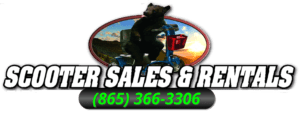 Job Seeking Application for Employment at Scooter Sales and Rentals Logo in Pigeon Forge or Gatlinburg, Tennessee. Logo is picture of a Bear riding a Pride Mobility Scooter with our store phone number 865-366-3306 underneath it,.